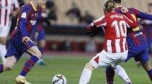 Supercopa de España | El Athletic Club, campeón tras noquear al FC Barcelona