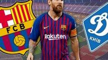 Ya hay onces del FC Barcelona - Dinamo de Kiev