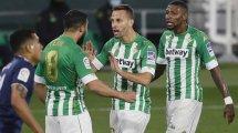 El Real Betis sigue a tres nuevos jugadores a coste 0