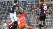 Serie A   El Cagliari noquea a la Juventus; la AS Roma se impone al Torino