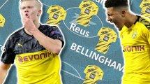 El interesante 11 por el que puede apostar el Borussia Dortmund 2020-2021