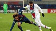 Copa de Francia | El PSG se impone al Caen