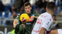 Serie A | El Nápoles derrota por la mínima al Cagliari