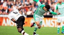 Carles Aleñá se gana la confianza del Real Betis