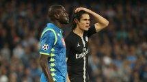 El Inter de Milán no se olvida de Edinson Cavani