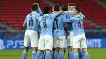 Liga de Campeones   Baño y masaje para un Manchester City que accede a cuartos
