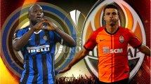 Confirmadas las alineaciones de Inter y Shakhtar