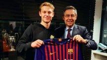 El FC Barcelona no hará negocios con Frenkie de Jong
