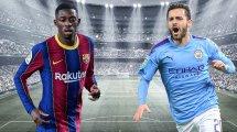 Impulsan el doble trueque entre FC Barcelona y Manchester City