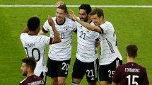 Confirmados los onces de Alemania y Hungría