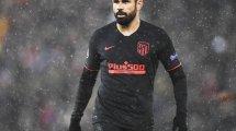 Atlético de Madrid | Dos vías en Italia para Diego Costa… y un posible recambio
