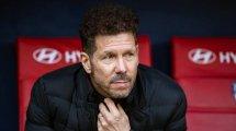 La reacción de Simeone tras el empate del Atlético de Madrid en Vigo