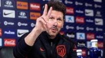 """La respuesta de Diego Simeone a las críticas de Jürgen Klopp: """"Nothing"""""""