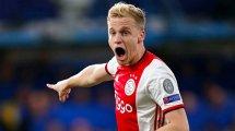 El posible recambio de Donny van de Beek en el Ajax