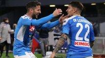 El Nápoles toma una decisión con Dries Mertens