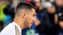 Eden Hazard genera malestar en el Real Madrid
