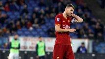 La Roma quiere vender a Edin Dzeko... Juventus e Inter al acecho