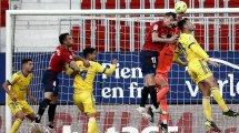 Liga | Ante Budimir impulsa a Osasuna contra el Cádiz