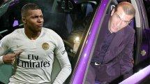 Kylian Mbappé relata su primer encuentro con Zinedine Zidane