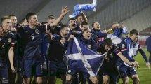 Ya tenemos onces del Escocia - República Checa