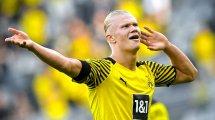 Bundesliga | Erling Haaland brilla en la goleada del BVB ante el Eintracht