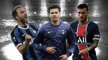 PSG, Inter y Tottenham valoran una operación a 3 bandas