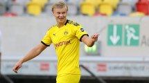 El desafío de Erling Haaland en el Borussia Dortmund
