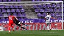 Fabián Orellana hace saltar las alarmas en el Real Valladolid