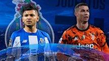 Las alineaciones de Oporto y Juventus
