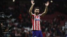 Felipe Monteiro, baja en el Atlético de Madrid