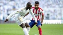 Real Madrid   Ferland Mendy le gana la partida a Marcelo