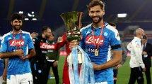 La firme postura del Nápoles con Fernando Llorente