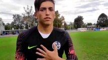 Franco Carrasco, la nueva sensación en las inferiores de San Lorenzo