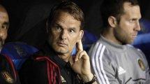Frank de Boer se queda sin equipo