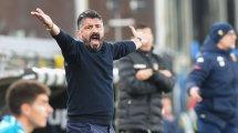 ¿Un cambio de banquillo para Gennaro Gattuso?