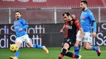 Serie A | Goran Pandev guía al Génova ante el Nápoles