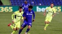 La confianza del Getafe con Carles Aleñá