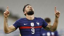 Patrice Evra se rinde en elogios hacia Olivier Giroud