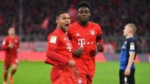 Serge Gnabry continúa de dulce en el Bayern Múnich
