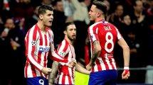 Atlético de Madrid | El increíble registro de Saúl Ñíguez