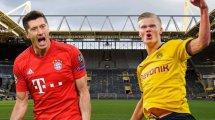 La apasionante pelea entre Robert Lewandowski y Erling Haaland