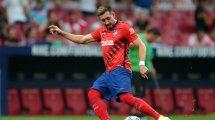 La complicada tendencia de Héctor Herrera en el Atlético de Madrid