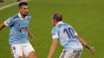 El Celta de Vigo confirma las lesiones de Iago Aspas y Nolito