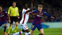 El FC Barcelona confirma la lesión de Frenkie de Jong