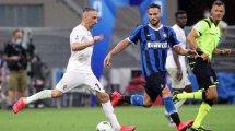 Serie A   Goleada de la AS Roma; combate nulo entre Inter y Fiorentina