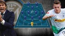 El sensacional 11 que pretende Antonio Conte para el Inter de Milán 2020-2021