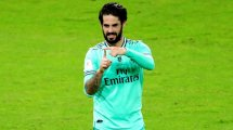 Isco se cae de la convocatoria del Real Madrid