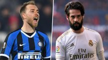 Real Madrid e Inter de Milán pueden intercambiar a Isco por Christian Eriksen