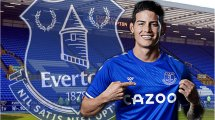 El interesante reto de James Rodríguez en el Everton