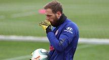 El Atlético sigue buscando un nuevo suplente para Jan Oblak